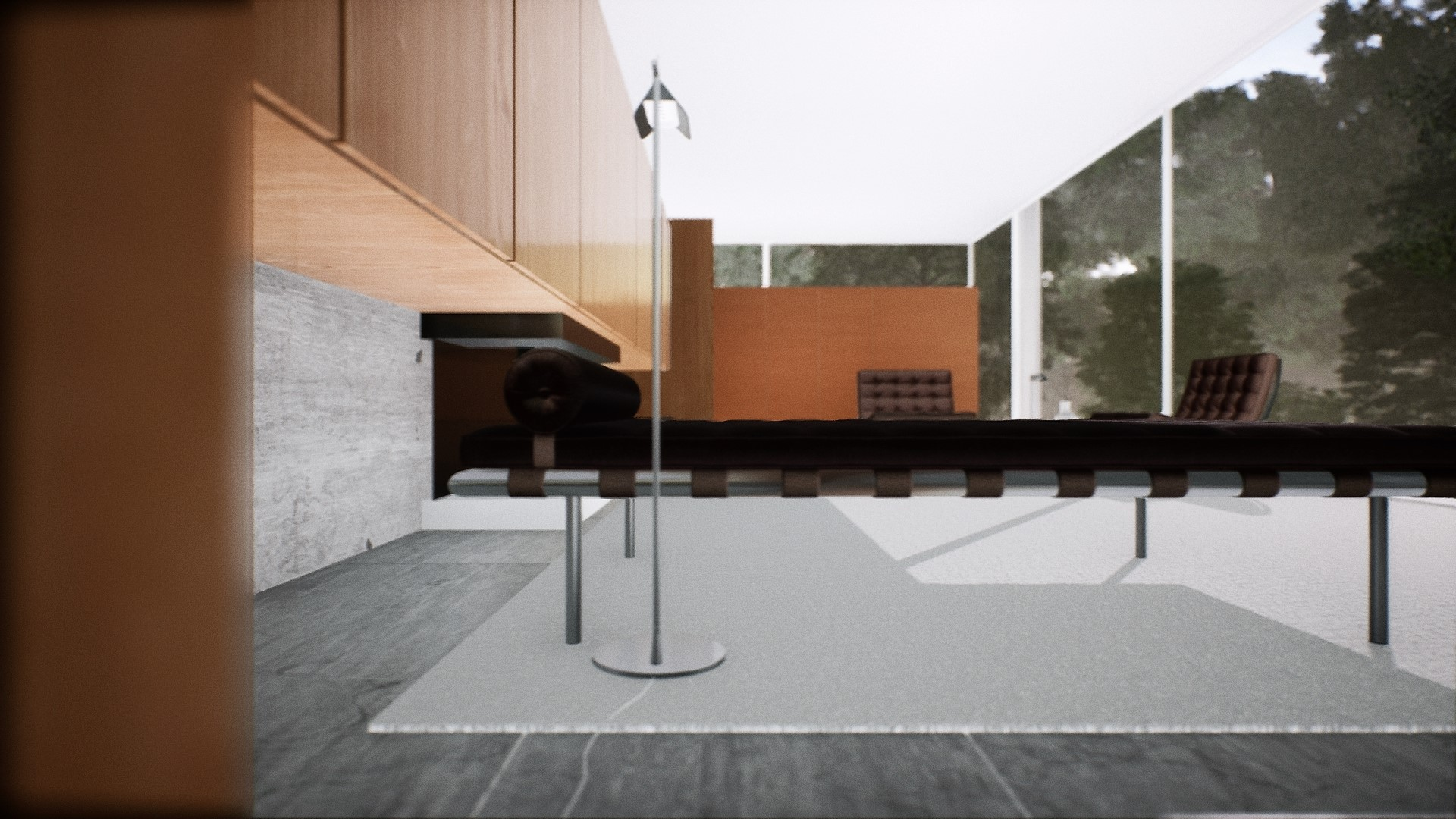 MIES farnsworth house UE4 avocad