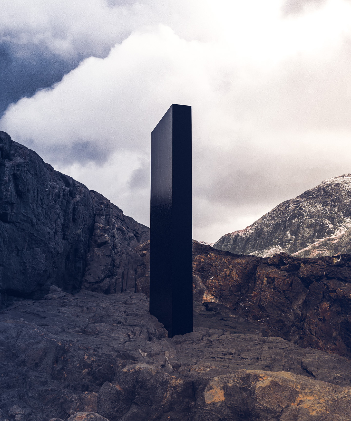 Space Odyssey Monolith 001 cinema